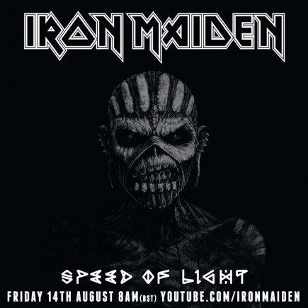 Iron Maiden - Speed Of Light - promo song banner - 2015 - August 4 - #6060633