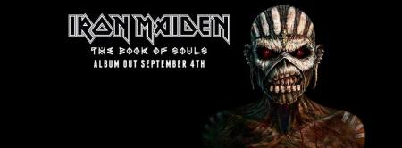 Iron Maiden - The Book Of Souls - promo album banner pic - 2015 - #336MMGSSFF24