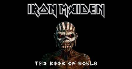 Iron Maiden - The Book Of Souls - promo album cover banner - 2015 - #IMMM303024