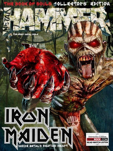 Metal Hammer - Iron Maiden - collectors edition issue - The Book Of Souls - 2015 - #336603MMMSS