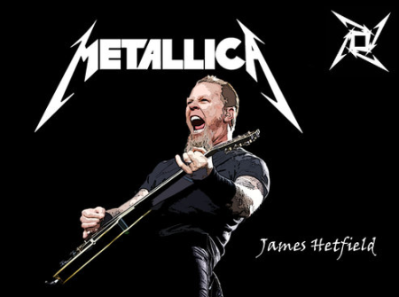Metallica - James Hetfield - publicity photo - #330330033MMGMSAS