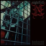NIGHTFELL - Darkness Evermore - promo album cover pic - 2015 - #3996MMGMSALBS046