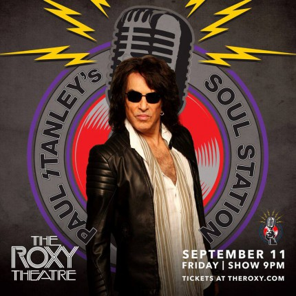 Paul Stanley's Soul Station - The Roxy Theatre - 0911 - debut show - promo flyer - MMMNSAILF