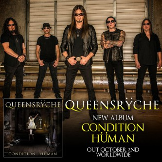 Queensryche - Condition Human - promo album flyer - #33033MMNS33SF