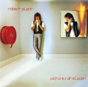Robert Plant - Pictures At Eleven - promo album cover pic - 1982 - MMILWAMH33