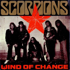 Scorpions - Wind Of Change - promo 45rpm cover sleeve - #MOMMGSS33