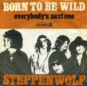 Steppenwolf - Born To Be Wild - promo 45rpm - cover sleeve - 1968 - #9093MMNSS4