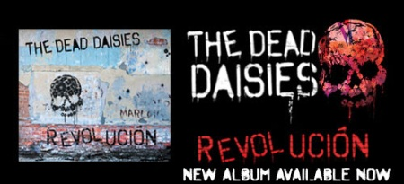 The Dead Daisies - promo album banner - Revolucion - #77330MM