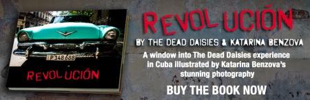 The Dead Daisies - Revolucion - promo book banner - 2015 - #330808