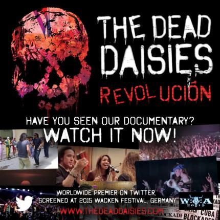 The Dead Daisies - Revolucion - promo docu flyer - 2015 - #0808MMGMSAS