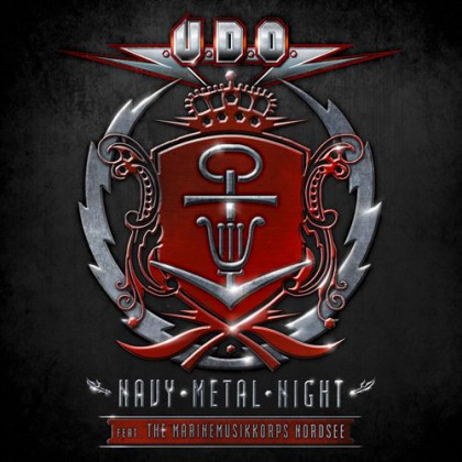 UDO - Navy Metal Night - promo album cover pic - 2015 - #33MMGMSALB330033