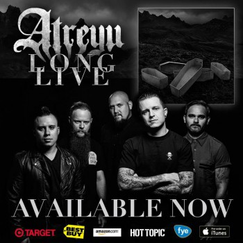 Atreyu - Long Live - album promo flyer - 2015 - #0927MNSS9399