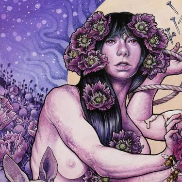 Baroness - Purple - promo album cover pic - 2015 - #092416MMSWL