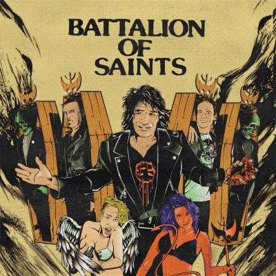 Battalion Of Saints - promo 7 inch cover pic - 2015 - #9369MMNSS033