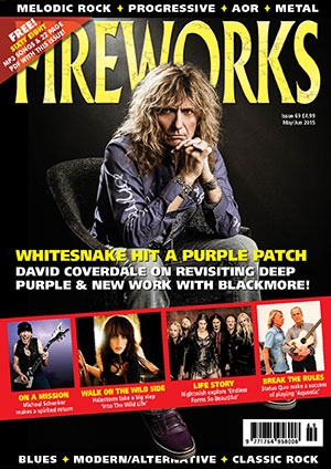 David Coverdale - Fireworks Magazine cover promo - 2015 - #33MODC33MMNS