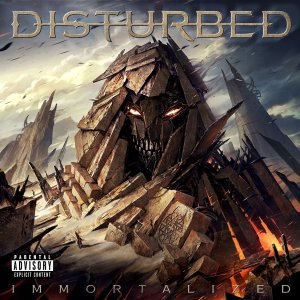 Disturbed - Immortalized - promo album cover pic - 2015 - MMSMS330339