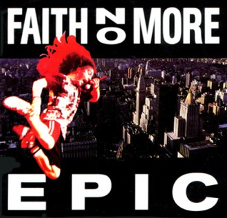 Faith No More - Epic - promo 45rpm cover sleeve - #33MMSSM99SC