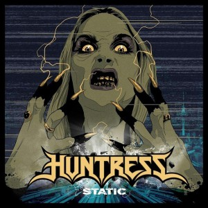 Huntress - Static - promo album cover pic - 2015 - #0739911MOSSNM