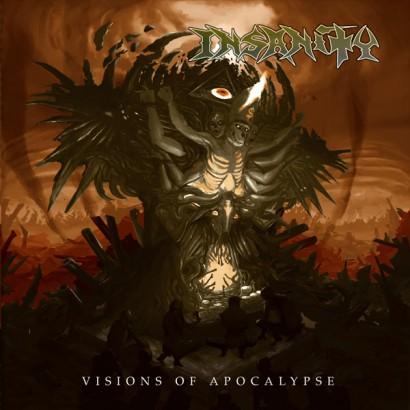 Insanity - Visions Of Apocalypse - promo album cover pic - 2015 - #4406SMON