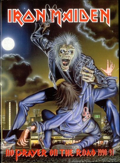 Iron Maiden - No Prayer On The Road - 1990 - 91 - Tour Program Promo Pic - #3039MMSNS6336
