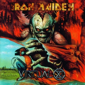 Iron Maiden - Virtual XI - promo cover pic - 1998 - #MMMONS333