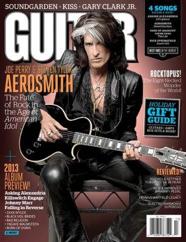 Joe Perry - Guitar World - cover promo - 2012 - #9933MMNSS004 -