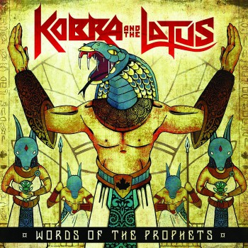 Kobra And The Lotus - Words Of The Prophets - promo cover pic - 2015 - #330324MMMSS