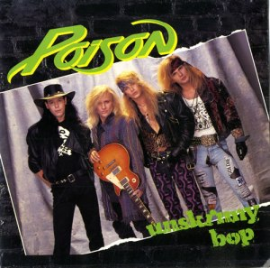 Poison - Unskinny Bop - promo 12 inch cover sleeve - 1990 - #MO330901