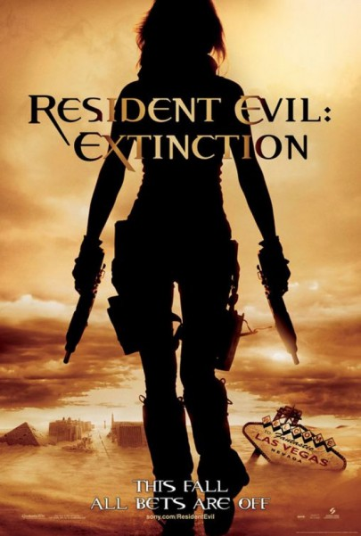 Resident Evil - Extinction - promo movie poster - 2007 - #3303393MMNSS6