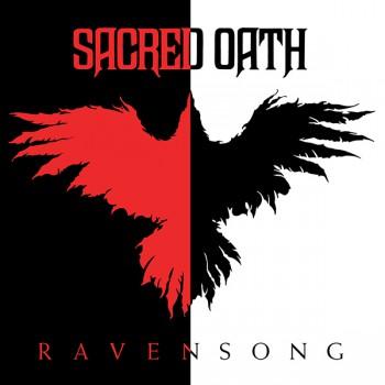 Sacred Oath - Ravensong - promo album cover pic - 2015 - #092416MMSMS36