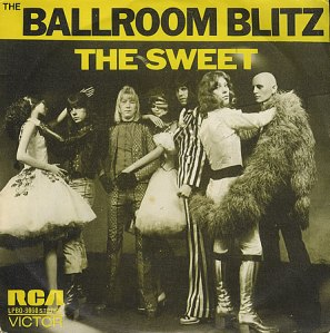 Sweet - The Ballroom Blitz - 45rpm promo cover sleeve - #1973MMNSS333