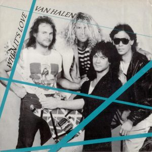 Van Halen - When Its Love - promo 45rpm cover sleeve - 1988 - #33MMSNS0910