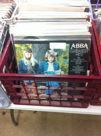 ABBA records - Antiques Mall - 2015 - #MO0000RB