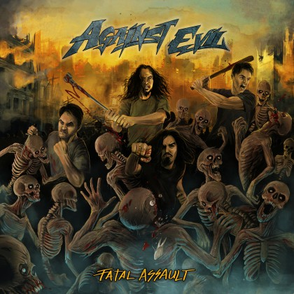 Against Evil - Fatal Assault - promo album cover pic - 2015 - #3300MNSSMSC9939