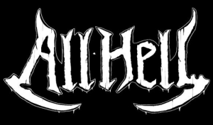 All Hell - classic band logo - 2015 - #MO66033033