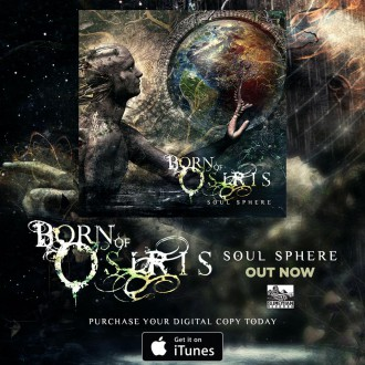 Born Of Osiris - Soul Sphere - promo album itunes ad - 2015 - #3309904410MONMSS