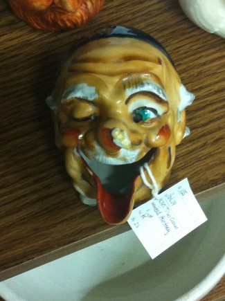 Creepy Face Head - Antique Mall - 2015 - #MO330NMSS8