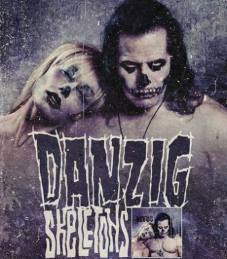 Danzig - Skeletons - promo album artwork - 2015 - #MO1424MM