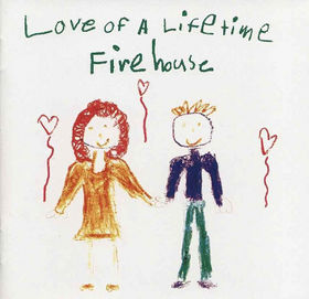 Firehouse - Love Of A Lifetime - promo 45rpm cover pic - 1991 - #FNMSS99334E4