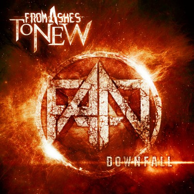 From Ashes To New - Downfall - promo EP cover pic - 2015 - #0339966MOSN