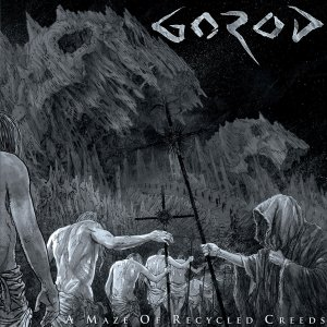 Gorod - A Maze Of Recycled Creeds - promo album cover pic - 2015 - #MOSSC993933