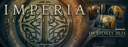 Imperia - Tears Of Silence - promo album banner pic - 2015 - #330MONSSMM9