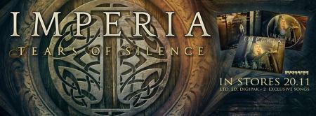 Imperia - Tears Of Silence - promo album banner pic - 2015 - #330MONSSMM9