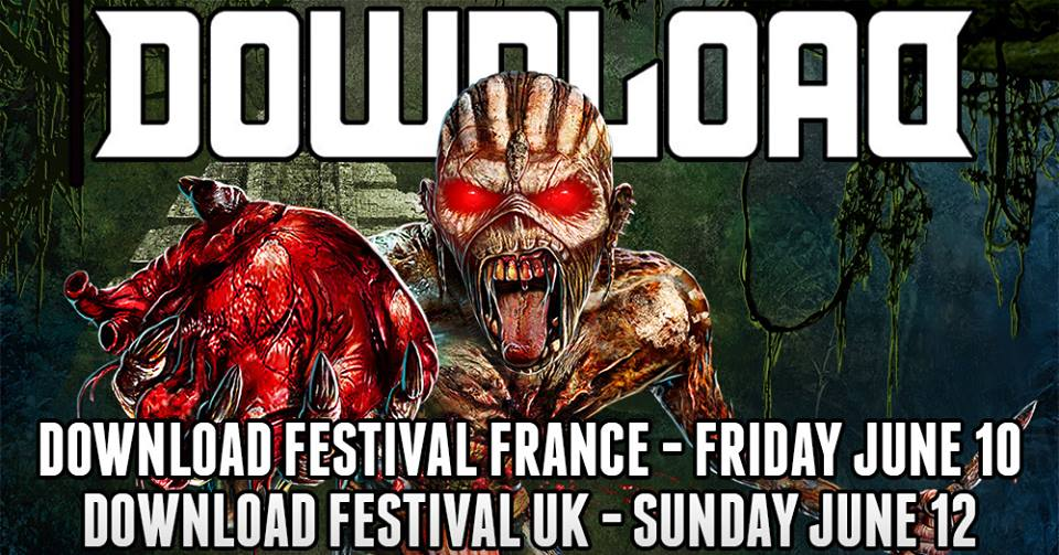 IRON MAIDEN – Metal Icons To Headline Download Festival In France