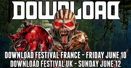 Iron Maiden - Download Festival - 2016 Promo Banner - France UK - #MO440996633