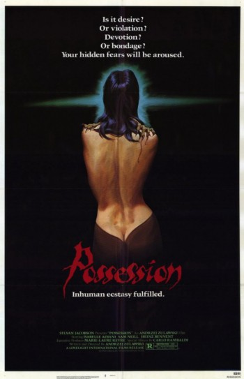 Possession - promo movie poster - 1983 - #MO6633MNSS
