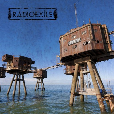 Radio Exile - debut album cover promo pic - 2015 - #3396MNSSMO3030