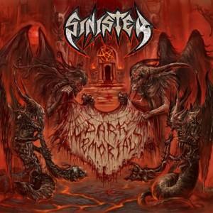 Sinister - Dark Memorials - promo album cover pic - 2015 - #33MMNSS24