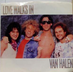 Van Halen - Love Walks In - promo 45rpm cover sleeve - #55MOSCN33033