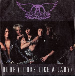 Aerosmith - Dude Looks Like A Lady - promo 45rpm cover sleeve - #MOSNSMM33F